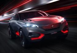 Пежо представили на автосалоне «кроссовер будущего»