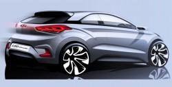 Хендай представили эскизы будущего автомобиля i20