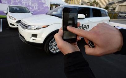 Управление автомобилем с помощью смартфона