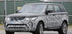 Обновленный Range Rover Sport уже тестируется