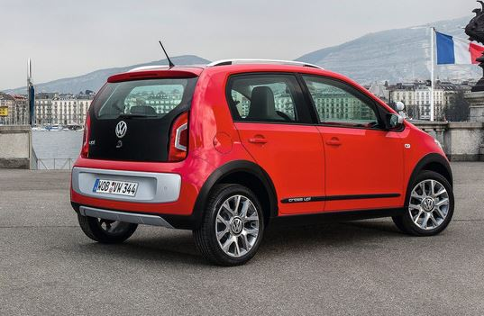 Автомобиль Volkswagen cross up!